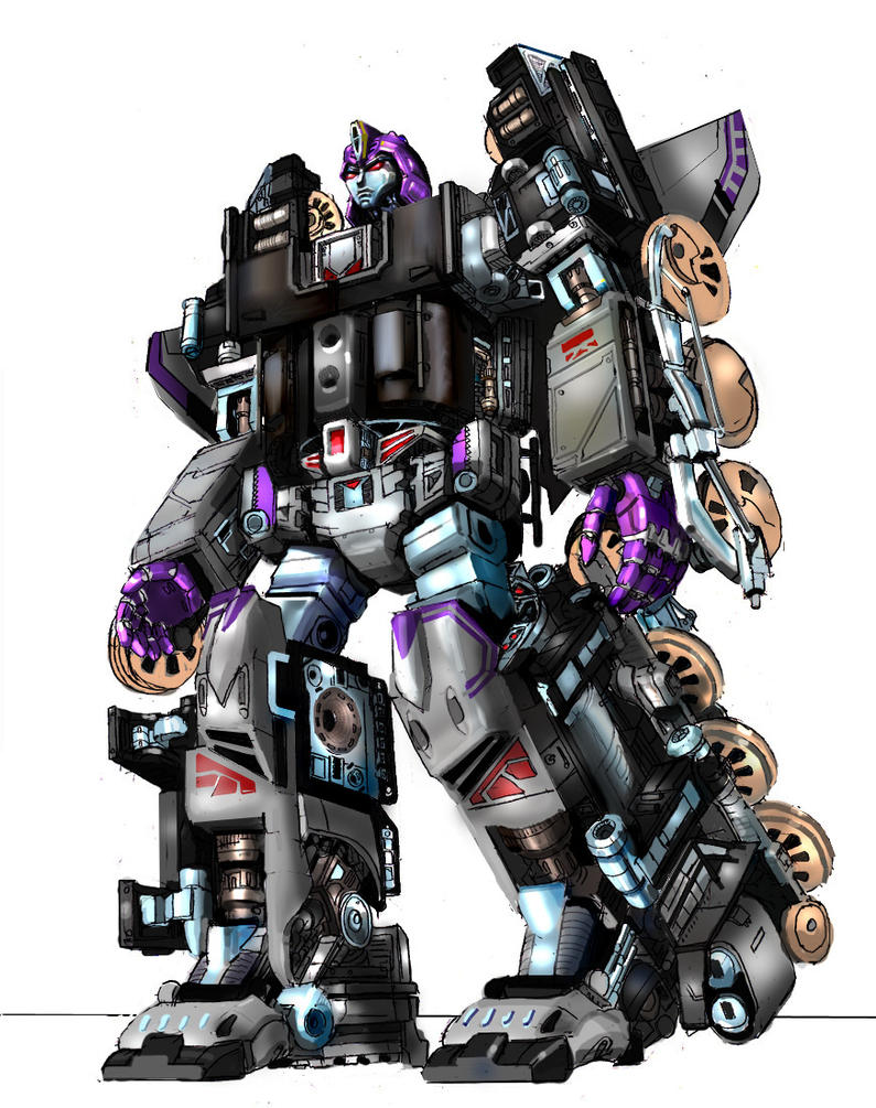 Astrotrain colors by Prowler974 on DeviantArt
