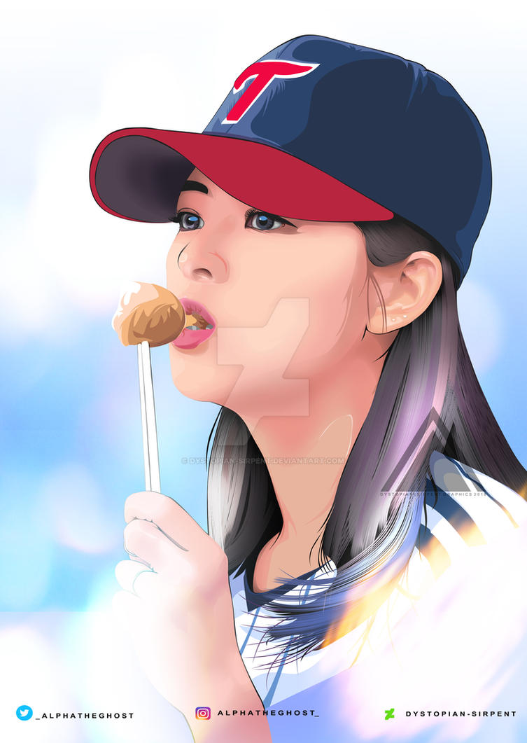 TWICE Jeongyeon Vexel FanArt by Dystopian-Sirpent