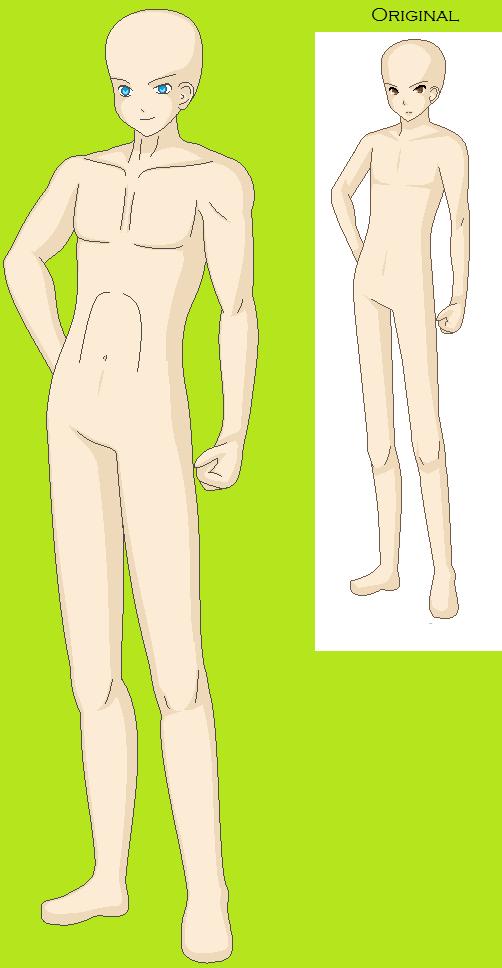 Full Body Male base by LoveAnime321 on DeviantArt