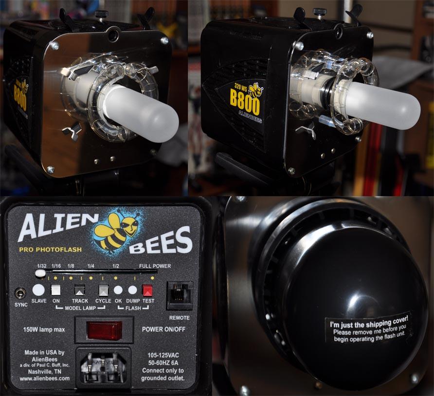 Alien Bees B800 Strobe Light: Alien Bees B800 Flash Unit By GeraldII On DeviantArt