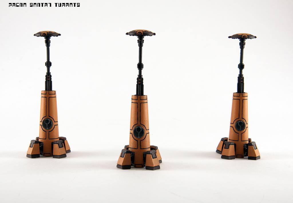 Tau Drone Sentry Turrets by GeraldII