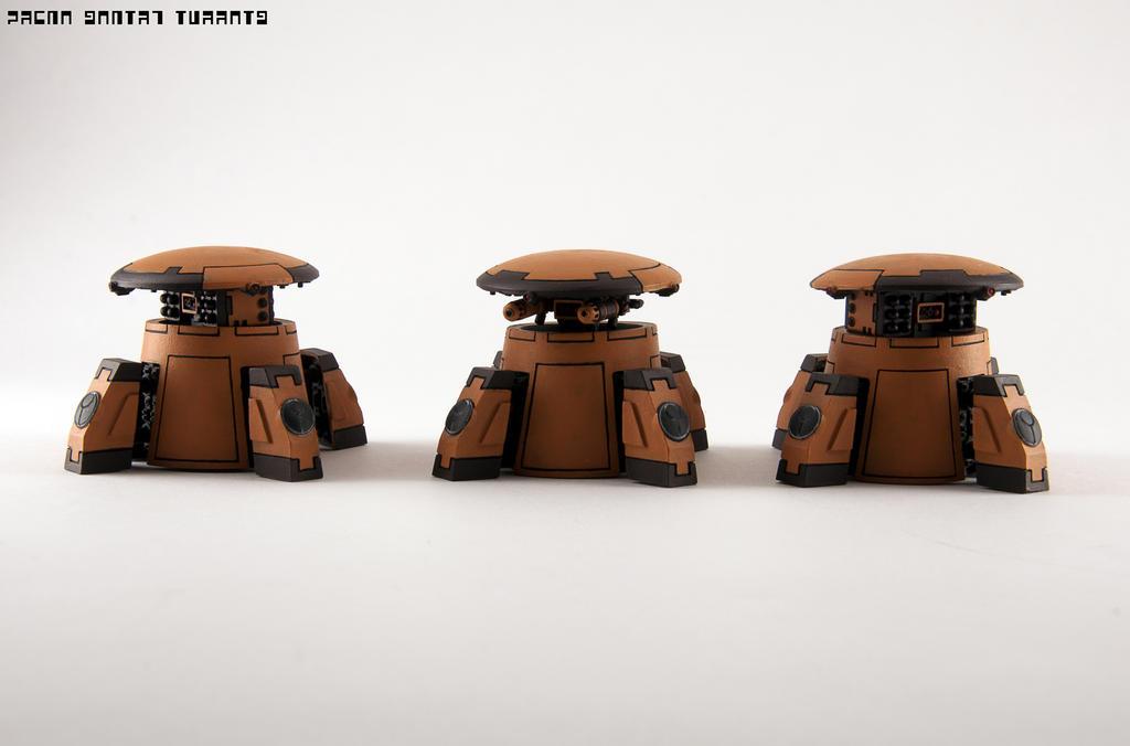 Tau Drone Turrets by GeraldII