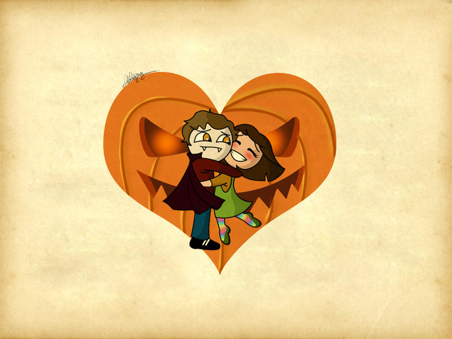 Edward and Bella's Halloween by Loleia
