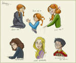 HP: Harry Potter Doodles