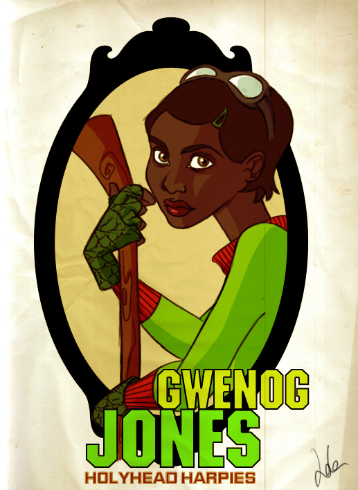 HP: Gwenog Jones Poster