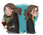 HP: Hermione Sketches