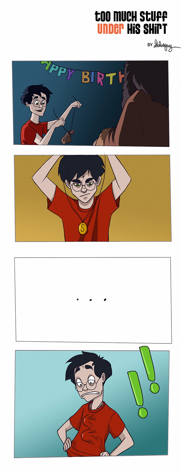 Harry Potter Comic 06 by Loleia