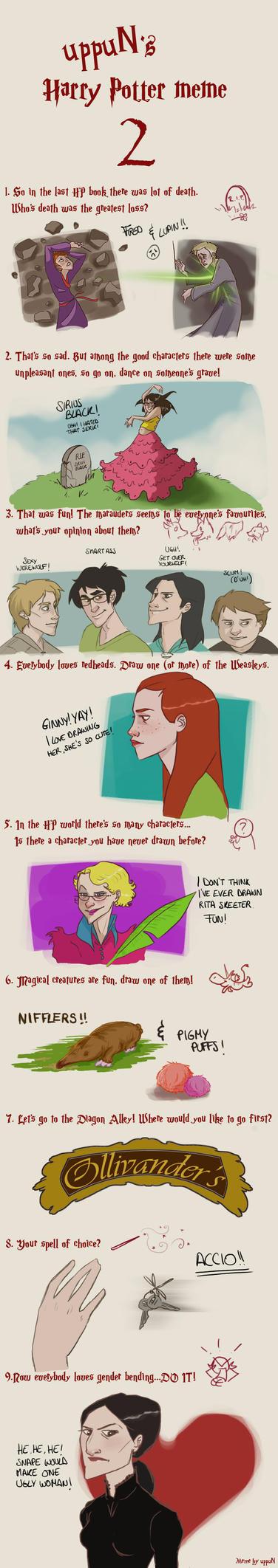 HP: Art Meme by Loleia