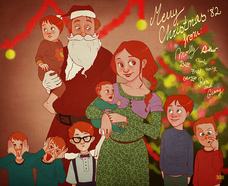 HP: Weasley Christmas by Loleia