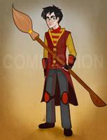 HP: Quidditch Uniform by Loleia
