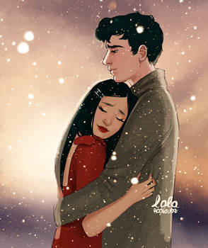 Lara Jean and Peter