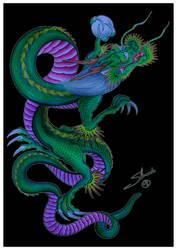 Dragon2 by shimadatattoofamily