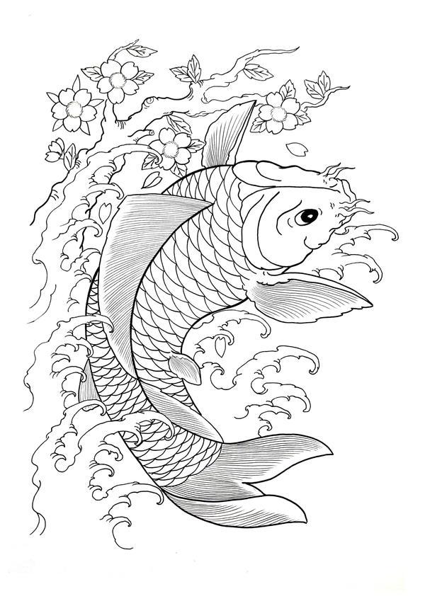 Koi by shimadatattoofamily on deviantart for Koi fish family