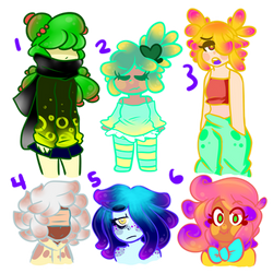 Splatoon Anemone AUCTION [0/6 CLOSED]
