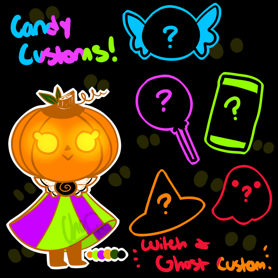 Trick or Treat ADOPTION! [3/6 CLOSED] by CharsWorld