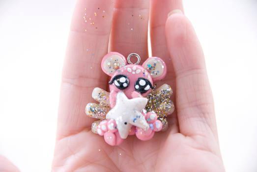 Pink Angel Bear