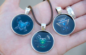 League of Legends Faction Pendants by IvrinielsArtNCosplay