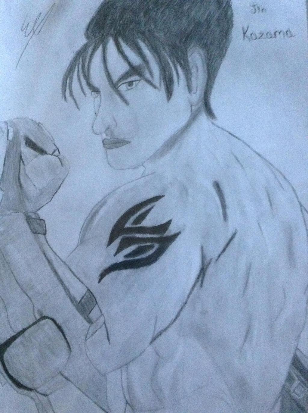 Jin Kazama // Tekken by SweetScarletSky