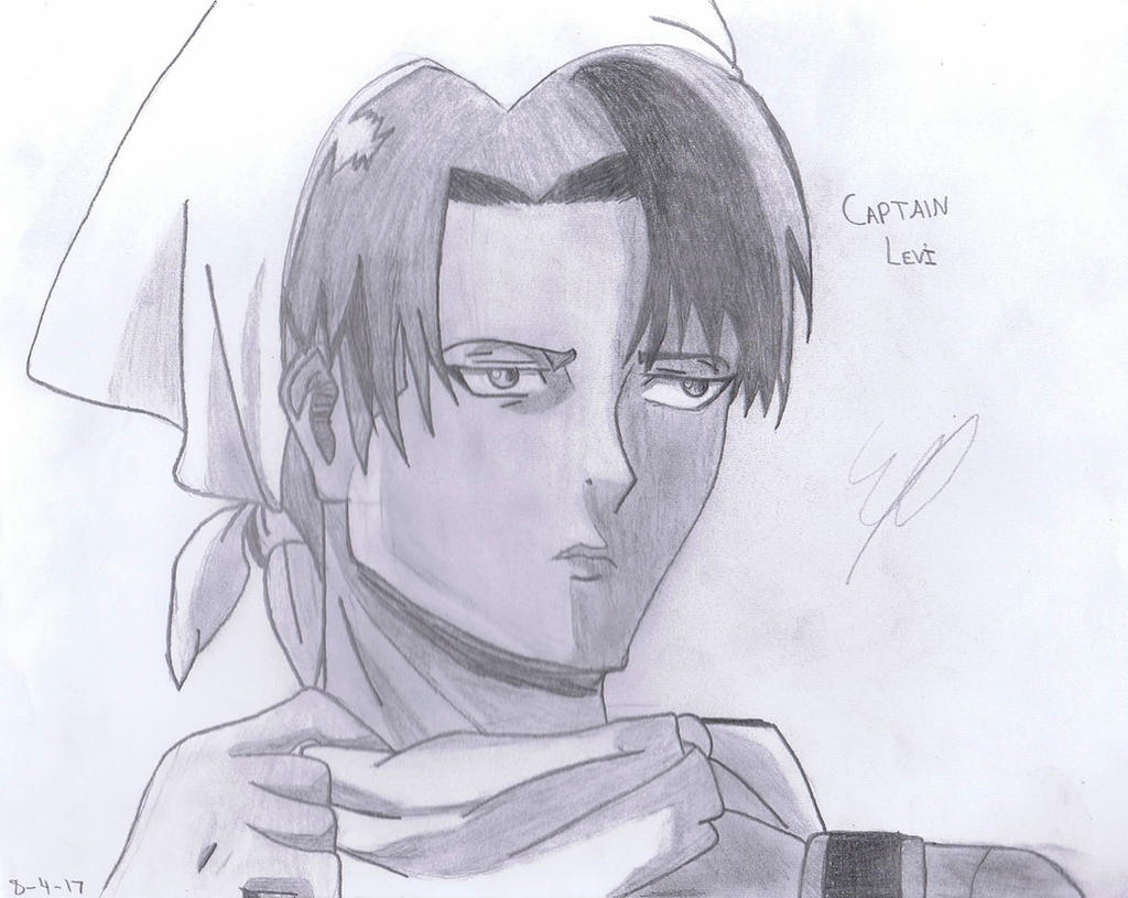 Captain Levi (Cleaning) // AOT by SweetScarletSky