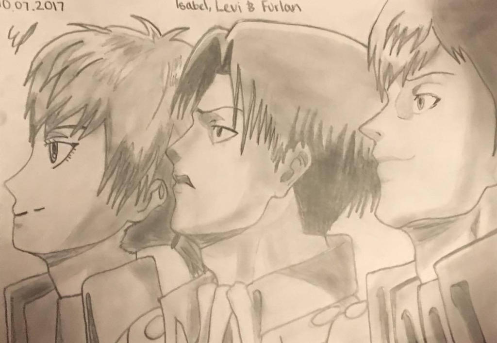 Isabel, Levi and Furlan // AOT by SweetScarletSky