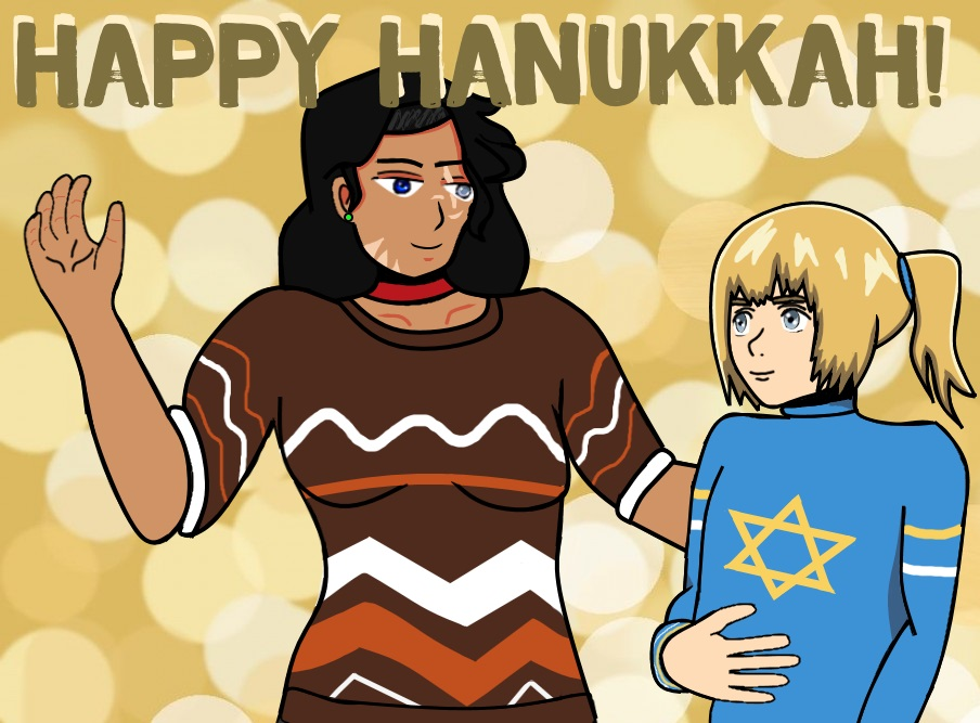 Hanukkah AOT Commission: King-Uli by SweetScarletSky