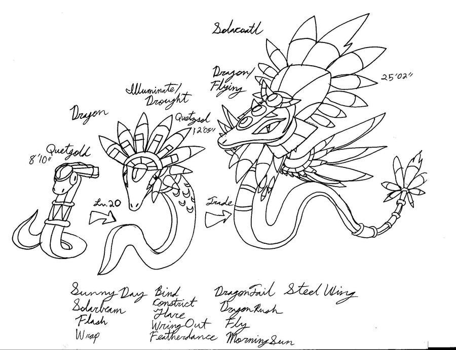 Quetzalcoatls by Emissary4Penguins