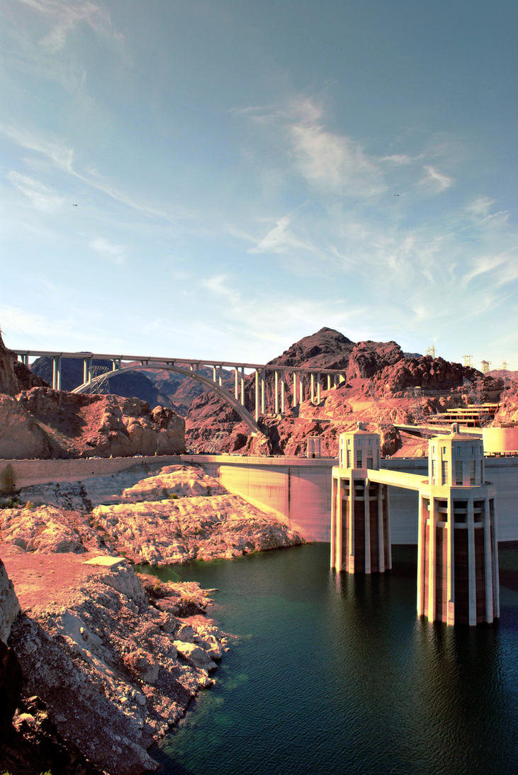 Hoover Dam by Kemart