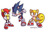 Original Team Sonic by songosai