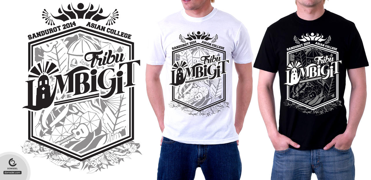 Tribu Lambigit (Asian College) for Sandurot 2014! by dominicdeloso