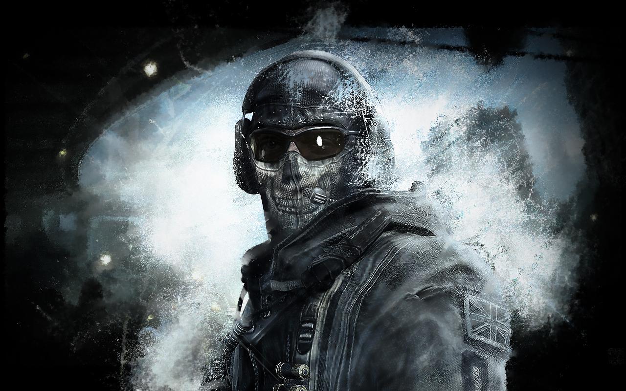 call of duty mw 2 ghost by rg4m3r on deviantart