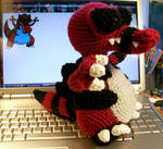 Krookodile Crochet Plush