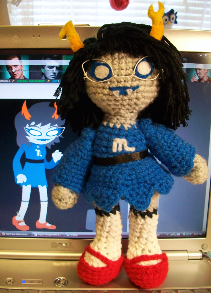 Aranea Crochet Plush by First-Mate-Kate