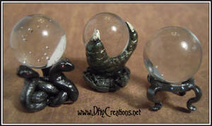 Crystal Ball Stands 1:12 Scale