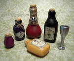 Potion Bottles - 1:12th Scale