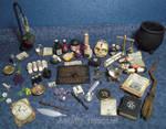 Altar Table Items - 1:12 Scale