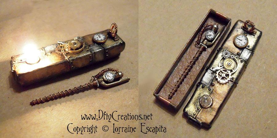 Steampunk Wand and Box