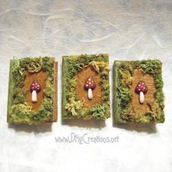 Miniature Mushroom Book
