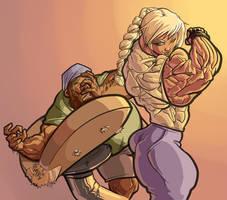 When arm wrestling Kira, better be insured
