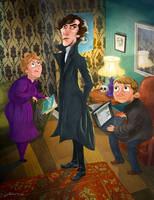 I believe in Sherlock by rismo