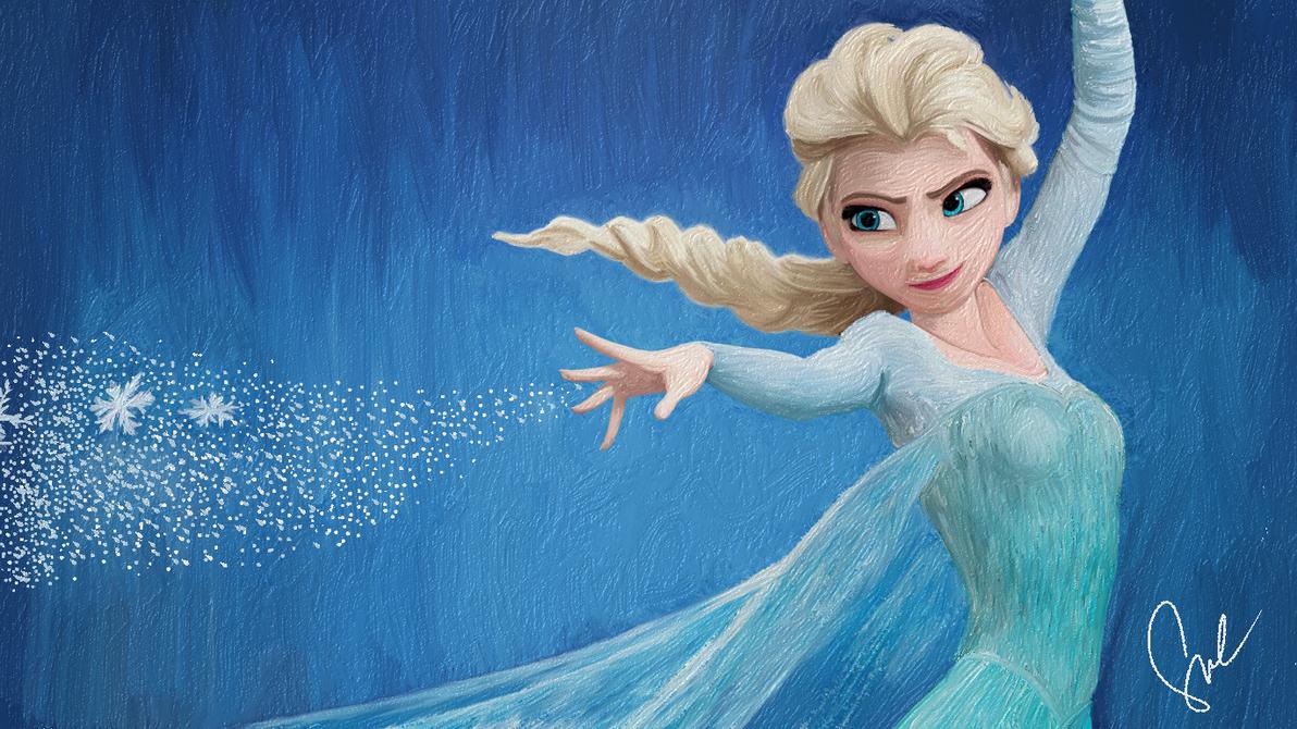 snow queen elsa frozen - photo #15