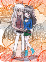 Request: Tsubasa and Victoria by GoldyGV
