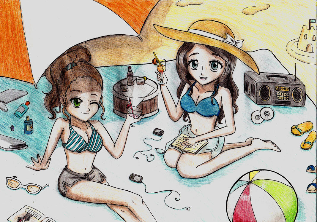 Summer Time by GoldyGV