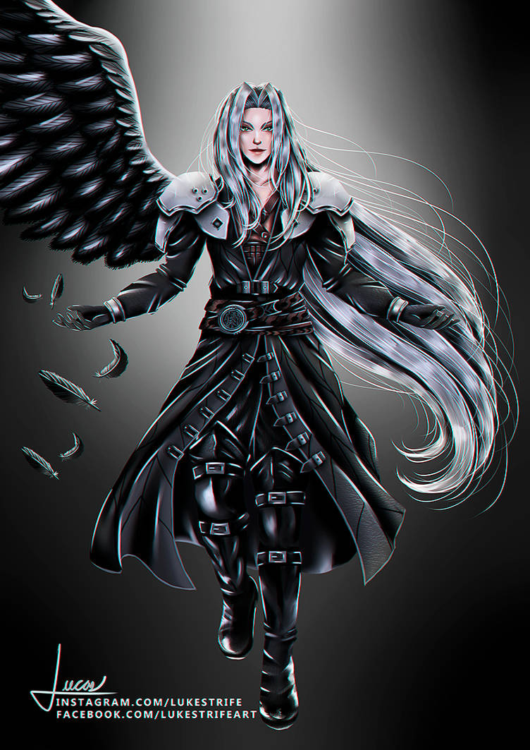 Sephiroth Final Fantasy Vii Remake By Lukestrife1 On