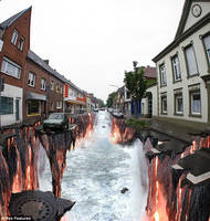 Incredible 3D Street Art works by idrissdrs