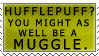 Hufflepuff Derp Stamp by kittykat01