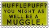 Hufflepuff Derp Stamp by kittykat01