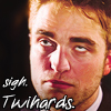 Rob's tired of Twihards by kittykat01