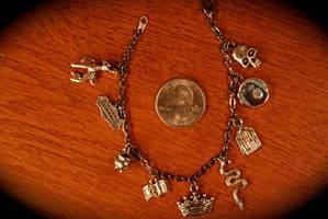 Severus Snape Charm Bracelet #5 by kittykat01
