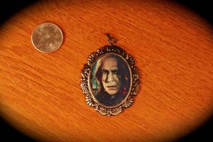 Professor Snape Cameo Pendant by kittykat01