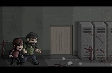 The Last of Us Pixel Art by LuizHD
